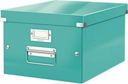 Leitz Короб архивный Click-n-Store размер M (A4) цвет бирюзовый