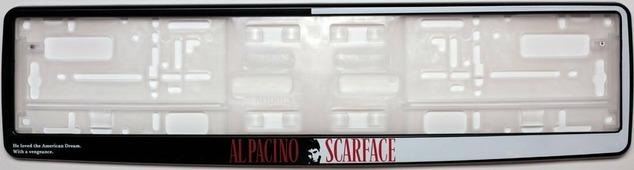 "Рамка под номер ""Scarface"""