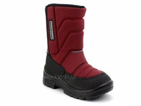 415003-03 Нордман Луми (Nordman Lumi), сапоги подростковые зимние, бордовый, текстиль, шерсть