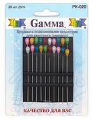 """Иглы для квилтинга """"Gamma"""", 20 шт"""