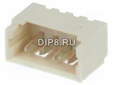 MX-53047-0410, Гнездо Micro 1.25мм 4 контакт., пр
