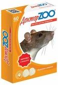 Мультивитаминное лакомство Доктор ZOO для крыс и мышей, 60 таблеток