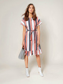 Электронная выкройка Burda - Платье с круглым вырезом горловины №5 A