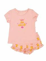 Пижама для девочек (фуфайка, шорты)