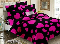 Комплект постельного белья Amore Mio Core, 2-спальный, наволочки 70x70