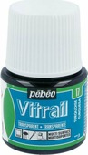 Pebeo Краска для стекла и металла Vitrail лаковая прозрачная цвет 050-017 бирюзовый 45 мл