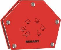 """Угольник магнитный для сварки на 6 углов """"Rexant"""", для фиксации металлических деталей, усилие 22,6 кг"""