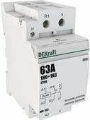 Контакторы модульные Модульный контактор 1НО+1НЗ 63А 230В МК-103 DEKraft Schneider Electric