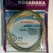 Поводковый материал Kosadaka 7001-55 1x7 3 м, 25,2 кг