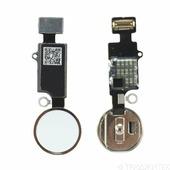 Шлейф кнопки HOME для Apple iPhone 7, 7 Plus, 8, 8 Plus (механическая), золотой