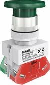Выкл. кноп. грибок с фикс. aeal ?22 мм 1но+1нз цвет: Schneider Electric, 25039DEK