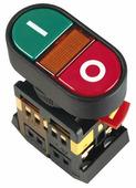 IEK Кнопка APBB-22N Пуск-Стоп с подсветкой неон 1з+1р 240В (BBD11-APBB-K51)