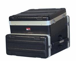 GATOR GRC-10X4 - рэковый кейс,пластик,черный,10U верх, 4U низ, компактный, легкий доступ к кабелям