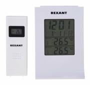 Метеостанция Rexant с беспроводным выносным датчиком {70-0595}