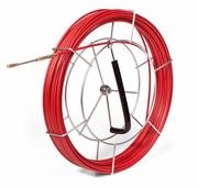Протяжка-стеклопруток со сменными наконечниками FGP-3.5/20МК, красная (20 м, катушка) {77502}