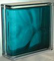 Стеклоблок торцевой волна морской