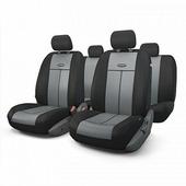 """Авточехлы Autoprofi """"TT"""", цвет: черный, серый, 9 предметов. TT-902M BK/D.GY"""