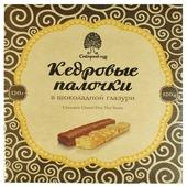 Сибирский Кедр конфеты кедровые палочки в шоколадной глазури, 120 г