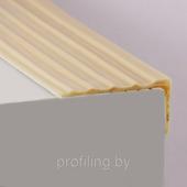 Резиновый угловой профиль противоскользящий самоклеющийся 41х18 12м