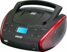 Портативная аудиосистема Mystery BM-6114U черный/красный