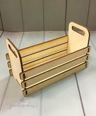 Ящик деревянный с ручками 15*7*9,5 см