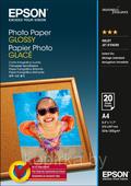 Фотобумага A4 (210x297) глянцевая односторонняя, 200 г/м², 20 листов, Epson, C13S042538