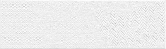 Клинкер Belani Фасадная плитка матео микс белый (матовая) 7,5Х25 СМ