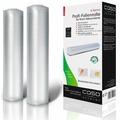 CASO VC 28х600 пленка в рулоне для вакуумного упаковщика, 2 шт.