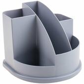 Attache Подставка для канцелярских принадлежностей Авангард 5 отделений цвет серый