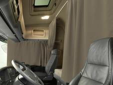 Комплект автоштор Эскар Blackout - auto XLK, светло - коричневый, 2 шторы 240 х 100 см, 2 шторы 120 х 160 см, 2 подхвата, 2 гибких карниза 3 + 5 м
