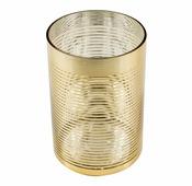 Подсвечник 0021, золотой, прозрачный