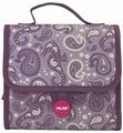Портфель Milan Drops, с 2-мя пеналами с наполнением, фиолетовый