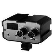 Аудио-микшер Comica CVM-AX1 двухканальный