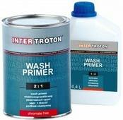 Грунт реактивный протравливающий INTER Troton WASH PRIMER 2:1 (0,8л + 0,4л)