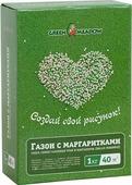Семена Green Meadow Газон с маргаритками Создай свой рисунок, 1 кг