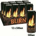 Burn Original энергетический напиток, 12 штук по 0,5 л