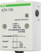 Фотореле Евроавтоматика F&F AZH-106, с встроенным фотодатчиком, 230В, 16А, IP65. EA01.001.002