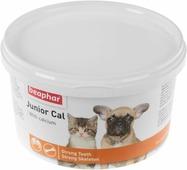 """Минеральная смесь Beaphar """"Junior Cal"""", для кошек и собак, 200 г"""