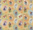 """Крафт бумага Magic Time """"Новогодние совы"""", немелованная, 100 х 70 см"""