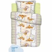 Детское постельное белье КиндерСон Ушастый соня, ОТК 1,5 спальное