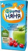 ФрутоНяня сок из яблок и шиповника с 5 месяцев, 0,2 л