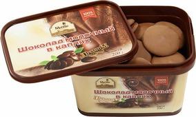 Mr.Cho шоколад молочный в каплях, 200 г