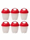 Яйцеварка TipTop 4605170009462, красный, белый