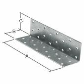 Уголок крепежный равносторонний 1000х100x100 мм KUR белый цинк STARFIX (SMP-35442-1)
