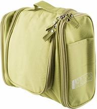 """Органайзер для косметики Homsu """"Basic"""", подвесной, цвет: зеленый, 24 х 10,5 х 20,5 см"""