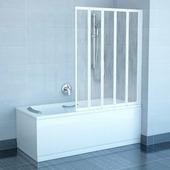 Шторка для ванны Ravak VS5 белый+райн