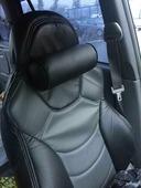 """Подушка на подголовник """"Auto Premium"""", цвет: черный, 10 см. 77190"""