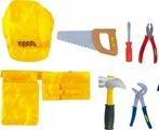 """Сюжетно-ролевые игрушки костюм """"Важная профессия"""" - """"Большая стройка"""" желтый"""