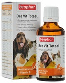 "Витамины Beaphar ""Bea Vit Totaal"", для кошек, собак, птиц, грызунов, 50 мл"