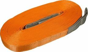 """Удлинитель лебедочного троса """"KennyМастер"""", цвет: оранжевый, 10 т, 20 м"""